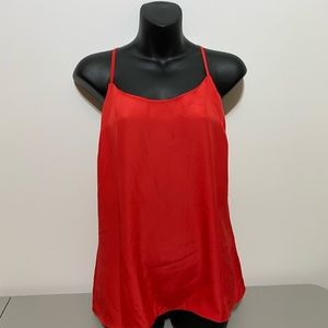 J. Crew Red Halter Blouse size 8 NWT